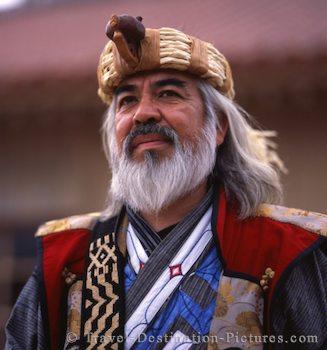 Ainu Elder, Hokkaido, Japan