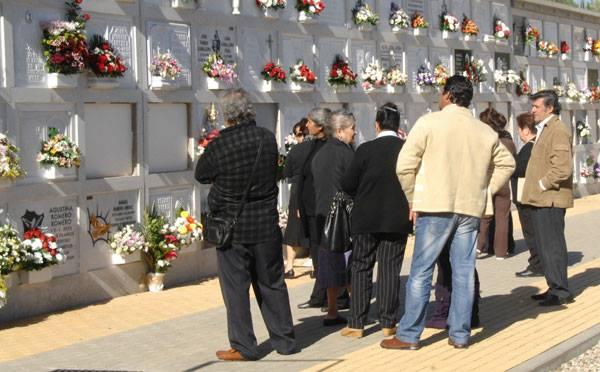 Hiszpanie-cmentarz